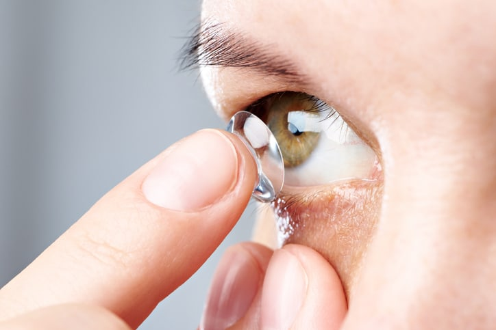 Proper care for contact lenses in Chicago