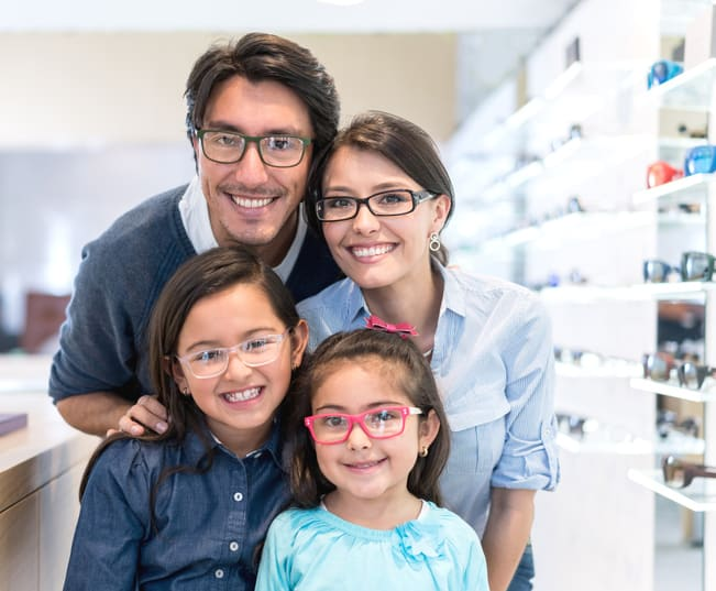 Glasses care for your family by Gerstein Eye Institute